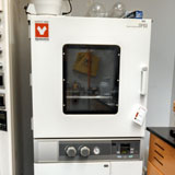Two large vacuum Yamato DP63 drying ovens